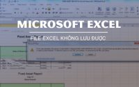 Excel file could not be saved