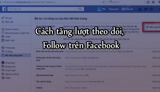 How to increase followers, Follow on Facebook