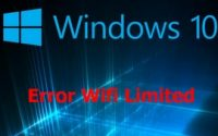 Fix wifi limited win 10, fix wifi exclamation error in windows 10