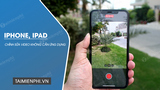 How to edit videos on iPhone, iPad does not need the application