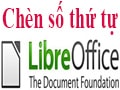 Numbering in LibreOffice, insert the bulleted line in LireOffice automatically