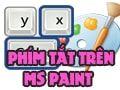 Summary of keyboard shortcuts on the Paint tool