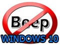 How to turn off the sound of beep on Windows 10
