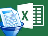 Instructions for calculating the sum of filtered list values in Excel