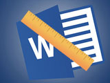 How to use the Ruler alignment ruler in Word