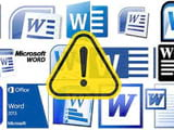 Synthesize correct error of Word without correcting, deleting, or adding new content