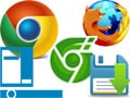 Save Chrome, Coc Coc or Firefox web pages to the Taskbar