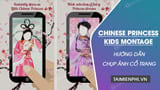 How to take pictures of ancient costumes with Chinese Princess Kids Montage