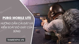 How to install PUBG Mobile Lite recoil control