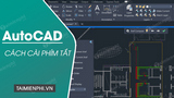 How to set keyboard shortcuts in AutoCAD