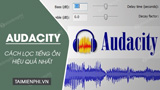 How to filter noise using Audacity