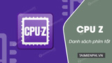 CPU Z shortcut on the computer