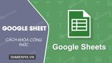 How to lock formulas in Google Sheets