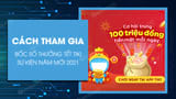 How to play Tiki New Year Lucky Draw, chance to win 100 million every day