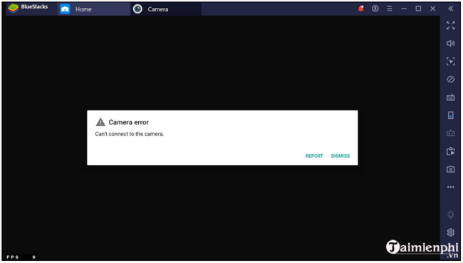 Fix the camera loom on the android bluestacks 4