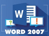 Split text into multiple columns in Word 2007