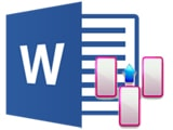 The most common ways to handle columns in Word