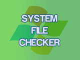Check the computer system by SFC command, apply Windows 10, 8.1, 8, 7