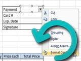 Reset right-click menu in Excel, restore the Excel right menu to its original state