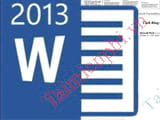 How to stamp Word 2013 document copyright