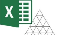 Draw an equilateral triangle in Excel, create an equilateral triangle chart in Excel