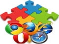 Manage Firefox, Chrome, and CocCoc Addon using BrowserAddonsView