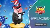 Link to receive free Spin Coin Master on July 17, 2020
