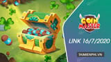 Link Free Spin Coin Master Free dated July 16, 2020