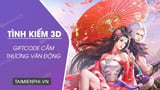 GiftCode Love Sword 3D Holding Thuong Van Dong