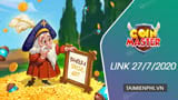Link Free Spin Coin Master Free dated July 27, 2020