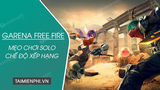 5 tips for playing Solo Free Fire ranking mode