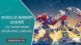 The Transformers are ready to fight in World of Warships: Legends
