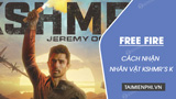 How to get the character KSHMR's K in Free Fire