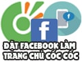 How to set Facebook.com as the homepage on Coc Coc