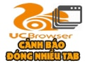 Create warning for closing multiple tabs on UC Browser, notification when closing multiple web tabs.