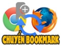 Transfer bookmarks from Chrome to Firefox, backup bookmarks from Chrome to Firefox