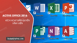 Active Office 2016 way, activate copyright permanently