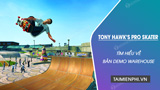 Everything you need to know about Warehouse demo of Tony Hawk's Pro Skater 1 2