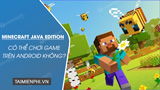 Is it possible to play Minecraft Java Edition on Android?