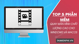 Top 5 high-quality screen recording software for Windows and macOS