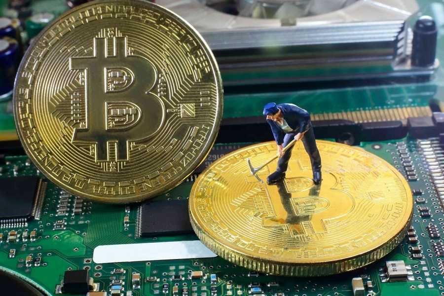 'Bitcoin mine' recycles coal to mine cryptocurrency