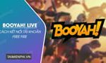 Instructions for connecting a Free Fire account on BOOYAH!  Live